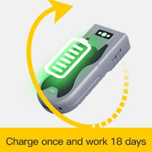 charge once and work 18 days