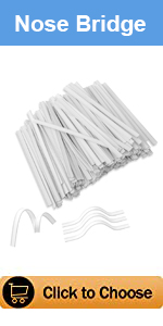 Oceantree Nose Bridge for Face Mask Plastic Insert Nose Wire Mask Accessories 100PCS