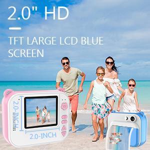 HD TFT Large LCD Blue Screen