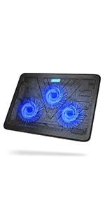 TECKNET Refroidisseurs PC Portable Ordinateur