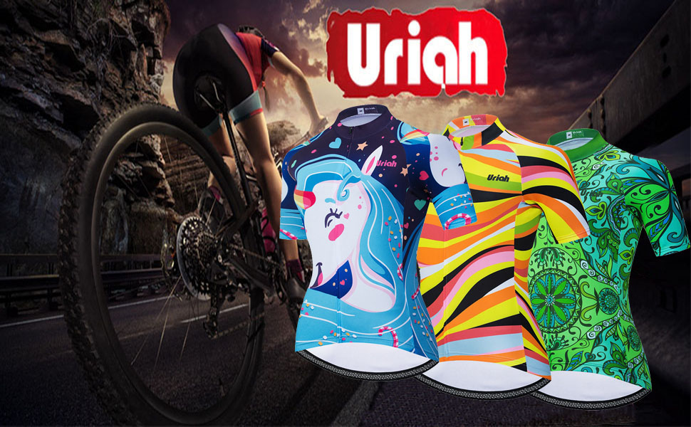 Uriah Women's Bicycle Jersey Short Sleeve Polyester