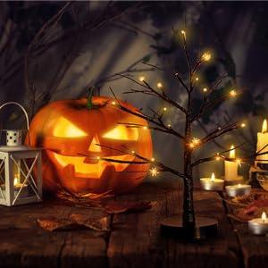 Halloween Led tree