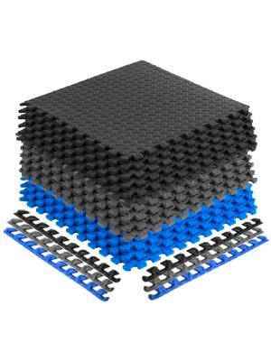 Interlocking foam mats, foam mats, interlocking