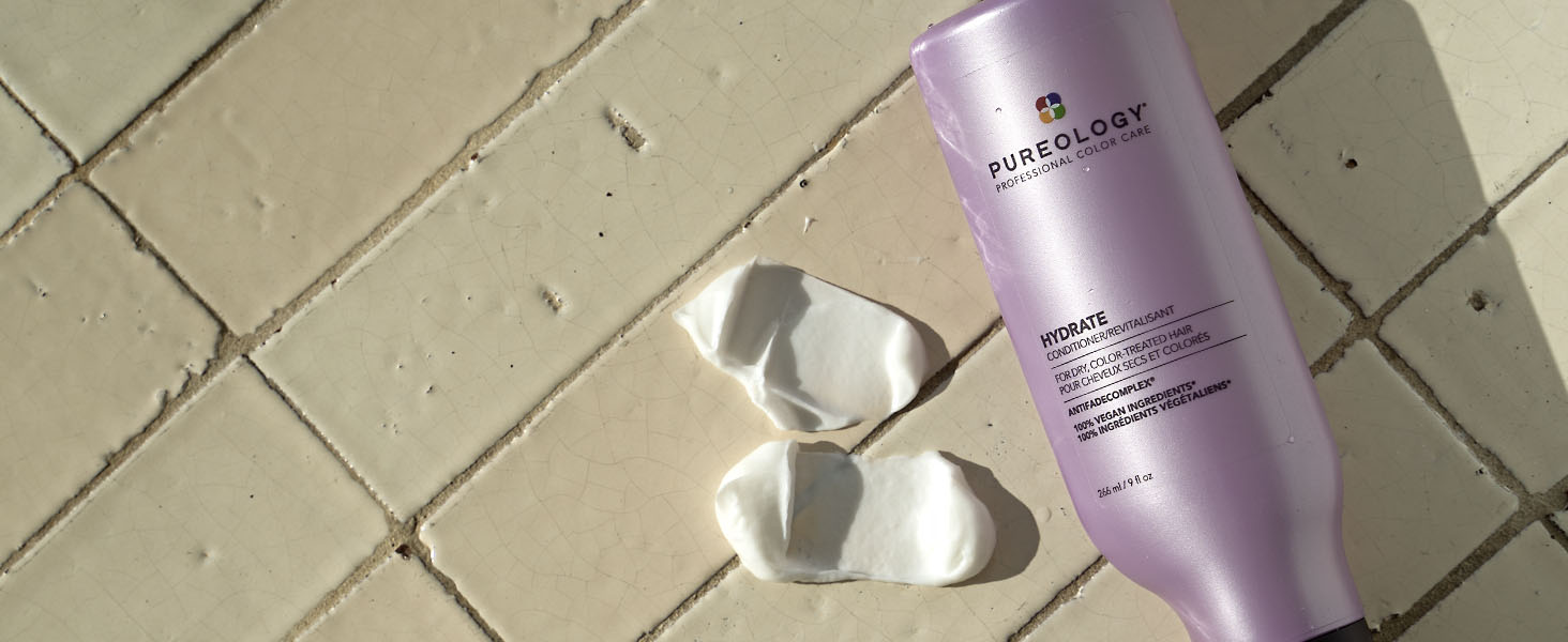 Pureology conditioner in shower