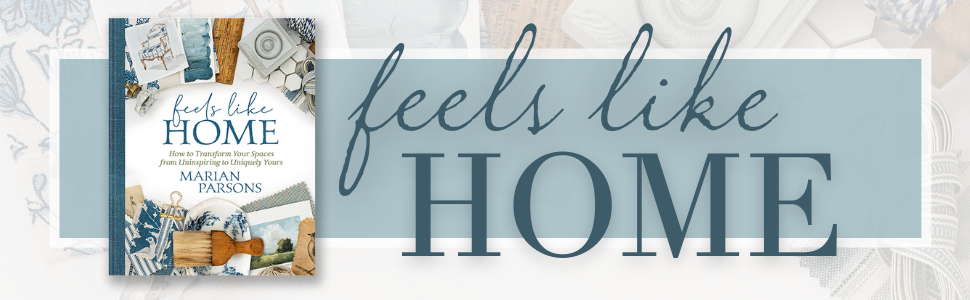 photo of cover of book FEELS LIKE HOME by Marian Parsons