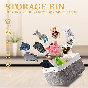 storage bins for organizing