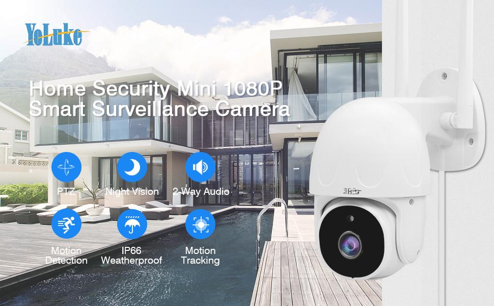 1080P Mini Smart Surveillance Camera