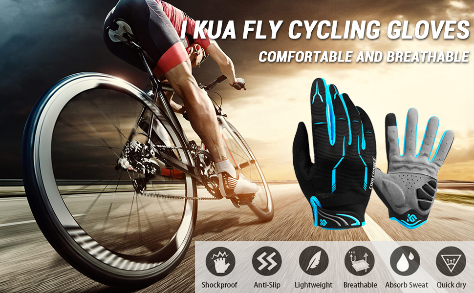 I Kua Fly cycling gloves