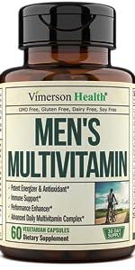Men's Daily Multivitamin Multivitamin Supplement