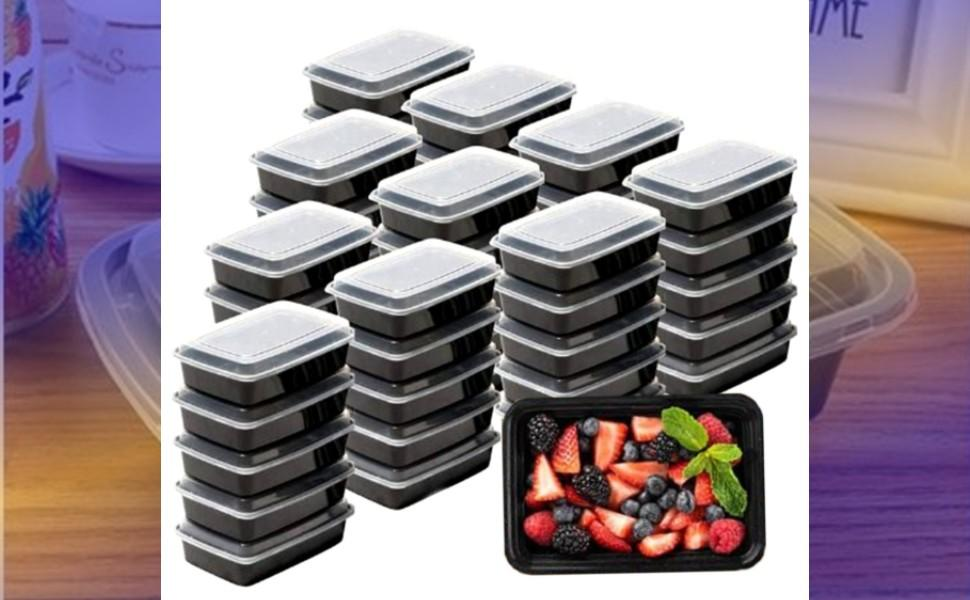 meal prep container with lids