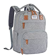 Baby Diaper Bag Backpack, Large Unisex Baby Bags for Boys Girls, Multifunction Travel Baby Back P...