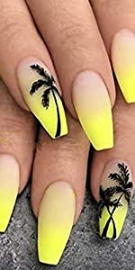 coco nails,Palm Tree Nail Sticker Summer Ocean Wind Nail Foil Tropical Surf Beach Coconut Tree Style