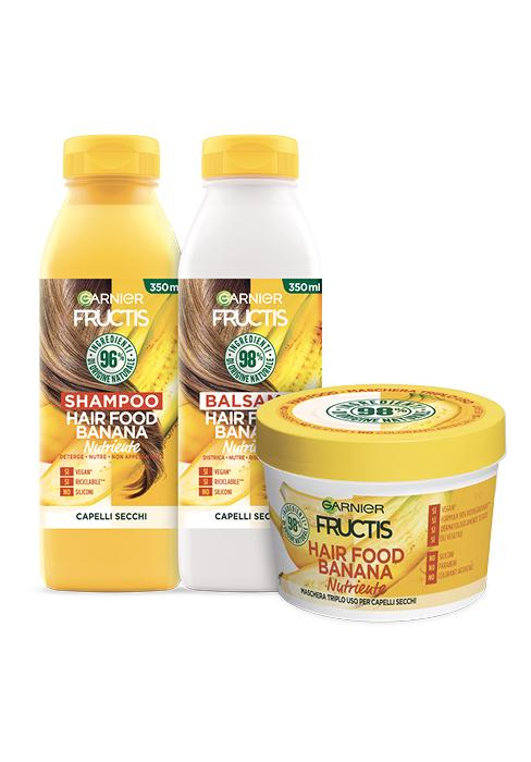 Kit per capelli Banana