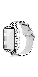 Watch Band with Screen Protector PC Case 42MM
