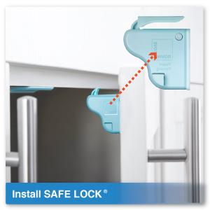 Install Roving Cove Safe Lock