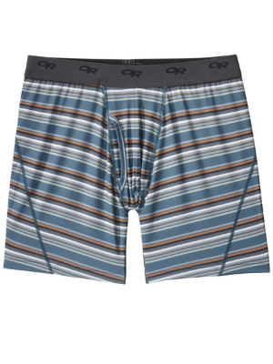 Outdoor Research Men's Next to None Printed Boxer Briefs, 6quot; Inseam