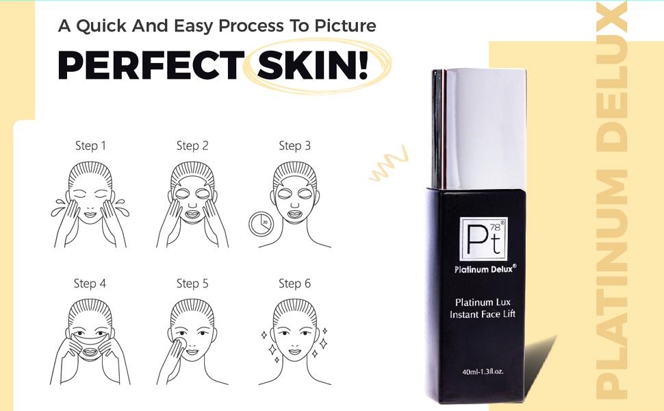 Platinum Lux's Instant Face Lift