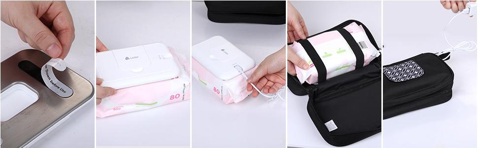 How  to use Lictin baby wipe warmer