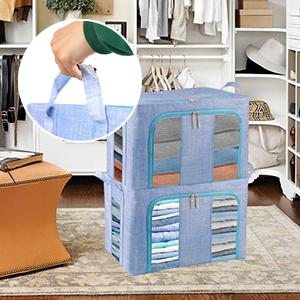 Foldable Storage Bins Boxes04