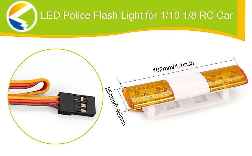 rc car police lights