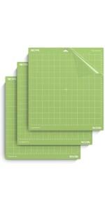 Standard-grip cutting mat for cricut