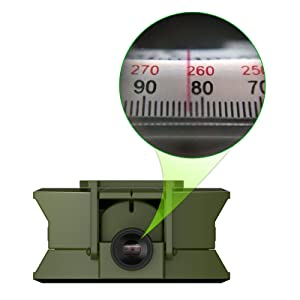 Adjustable diopter sighting lens