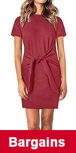 short sleeve short dress