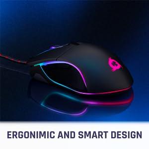 ゲーミングマウス ロジクールマウス コンピューターのマウス エルゴノミックマウス マウスゲーム 有線マウス USBマウス rgb マウス 左利きのマウス
