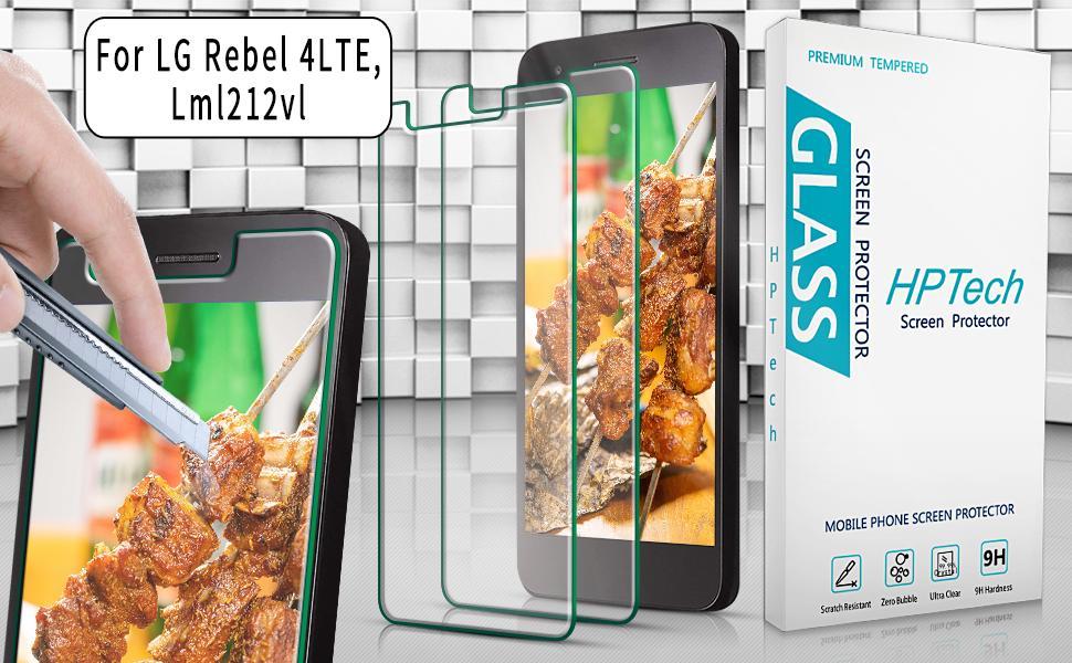 LG Rebel 4 LTE, Lml212vl Screen Protector