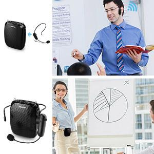 wireless voice amplifier for teachers