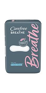 CareFree Breathe Regular Pads