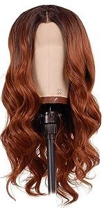 short wavy wig