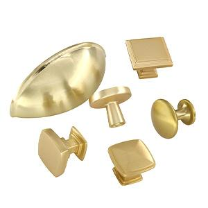 gold cabinet knobs