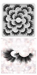 lashes set natural wispy lashes faux lashes fake eye lashes lower lashes small lashes