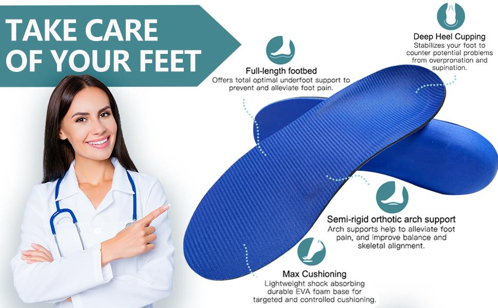 Shoe Insoles for Men and Women