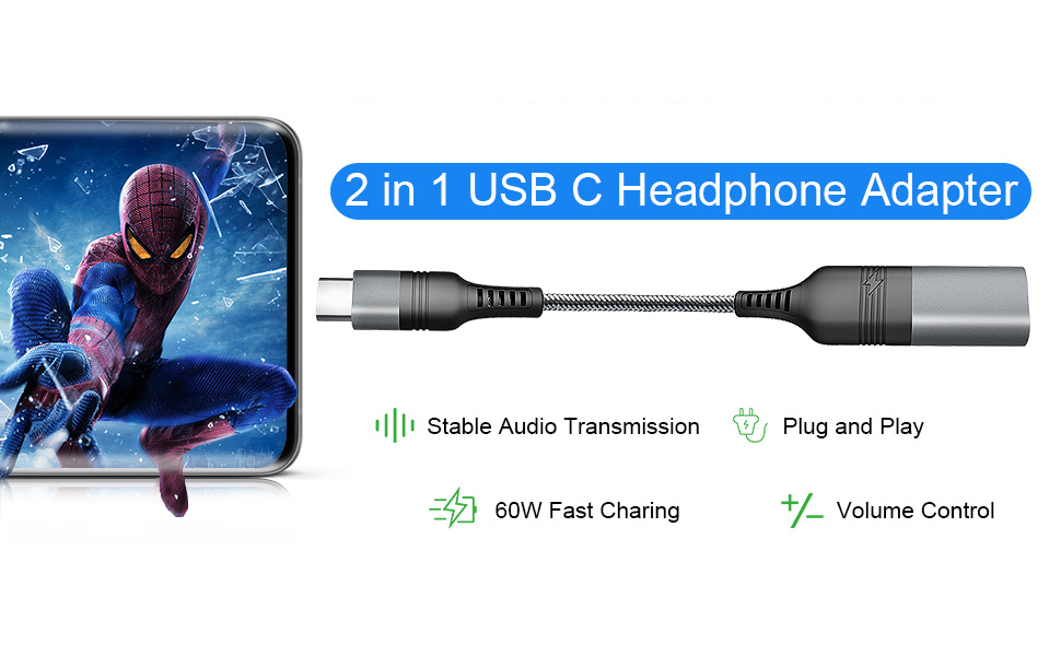 charger and headphone jack