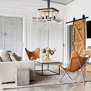 farmhouse dining room chandelier, briarwood lighting fixture