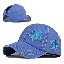 blue star hat