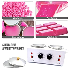 Available for Kinds Waxes