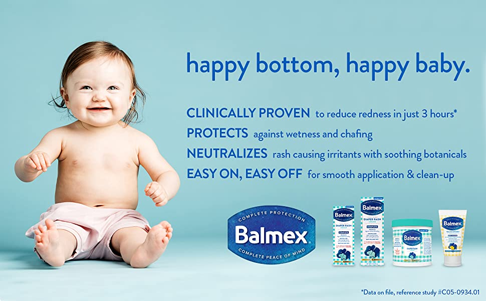 Balmex Baby for baby diaper rash cream