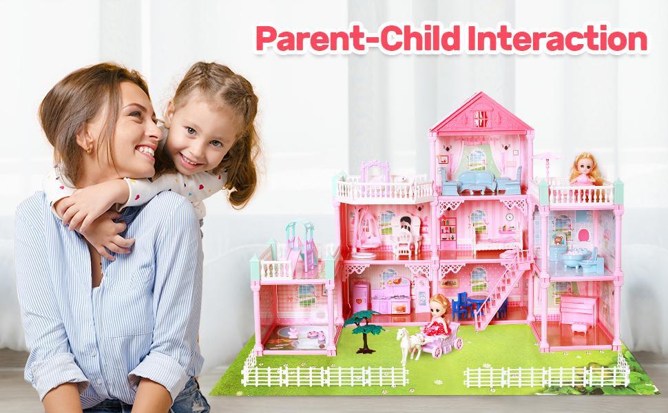 Dollhouse Dreamhouse Building Toys