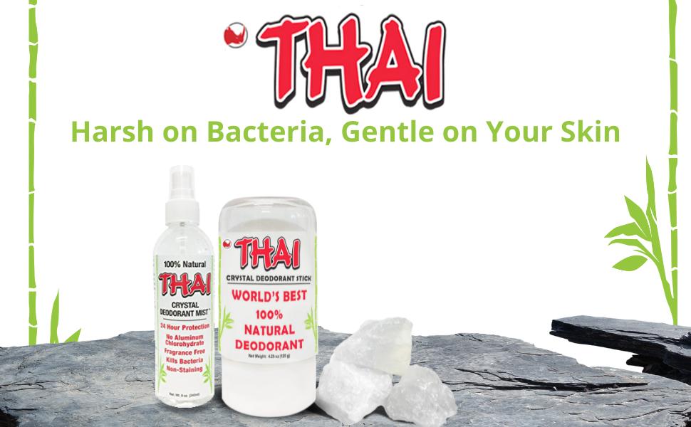 thai deo deodorant stone stick crystal aluminum free natural salt rock alum unscented women teen