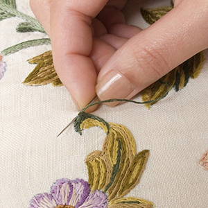 Suitable for sewing needles for embroidery
