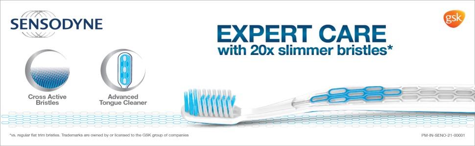 Sensodyne Expert Toothbrush With 20X Slimmer & Soft Bristles, 1 Piece