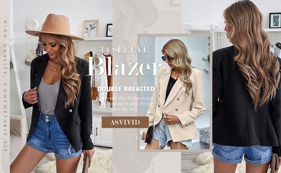 blazer work suit