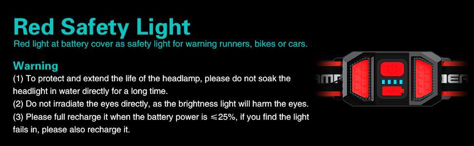 led headlamp rechargeable usb bright headlight flashlight on headband led headlamp for head