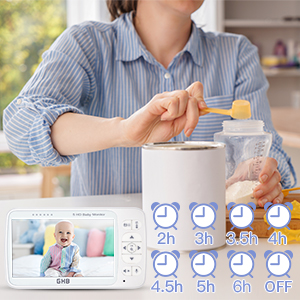 baby monitor feed timer