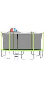 WISHWILL 16FT Trampoline