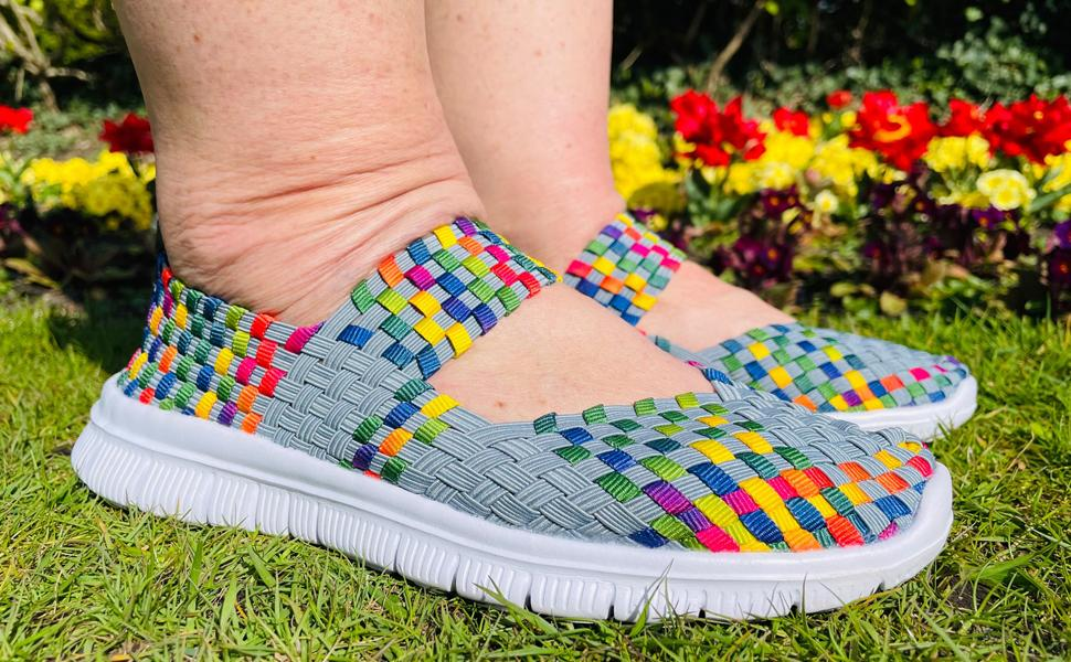 Elena Claire Woven Shoes