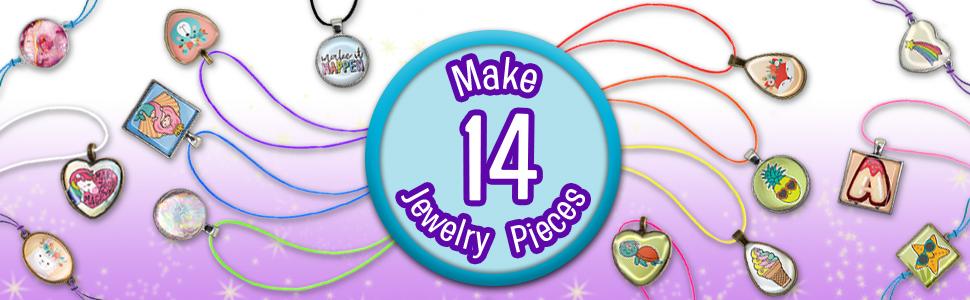 Make 14 Jewelry Pieces
